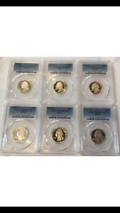 Click now to see the BUY IT NOW Price! SET OF 6 SILVER WASHINGTON QUARTERS 1992 1993 1994 1995 1996 1997S PR70DCAM