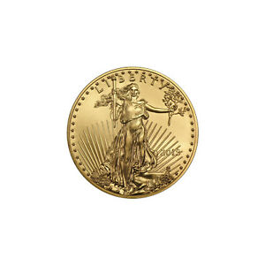 2018 GOLD AMERICAN EAGLE TENTH OUNCE BU GOLD COIN