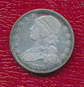 1831 CAPPED BUST SILVER QUARTER   VERY NICE   CIRCULATED