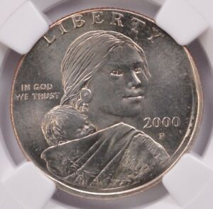 Click now to see the BUY IT NOW Price! NGC $1 2000 P SACAGAWEA DOLLAR ON MARYLAND QUARTER DOUBLE DENOMINATION MS65