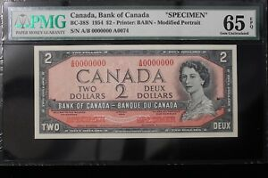 Click now to see the BUY IT NOW Price! 1954 CANADA.  $2  TWO DOLLARS.