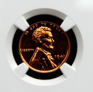 Click now to see the BUY IT NOW Price! 1941 LINCOLN WHEAT CENT NGC PR67 RED CAC APPROVED  1 OF 6  PRICE GUIDE   $20 500