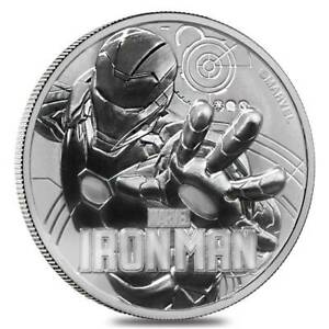 Click now to see the BUY IT NOW Price! IRONMAN  1OZ SILVER COIN   TUVALU 1 DOLLAR 2018  PRESALE
