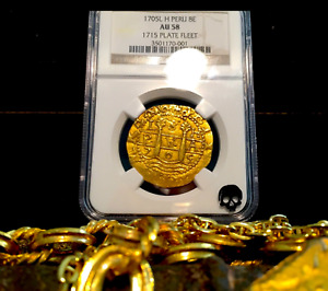 Click now to see the BUY IT NOW Price! PERU 1705 8 ESCUDOS