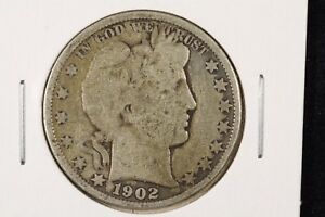 Click now to see the BUY IT NOW Price! 1902 50C BARBER HALF DOLLAR GOOD