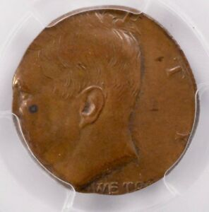 Click now to see the BUY IT NOW Price! PCGS 50C KENNEDY HALF ON CENT PLANCHET MS62 BROWN
