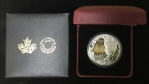 Click now to see the BUY IT NOW Price! 2015 BURROWING OWL   BABY ANIMALS COLORIZED PROOF $20 SILVER 1OZ .9999