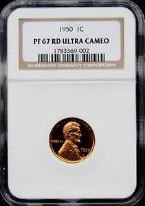 Click now to see the BUY IT NOW Price! 1950 LINCOLN WHEAT CENT PENNY 1C NGC PF67 PR67 RD RED ULTRA DEEP CAMEO