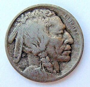 1913 TYPE I VF BUFFALO NICKEL NICE 3/4 HORN COLLECTOR  COIN