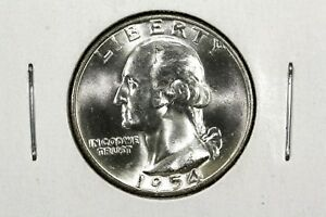 Click now to see the BUY IT NOW Price! 1954 D WASHINGTON QUARTER GEM BU