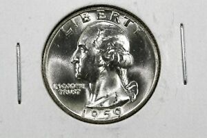 Click now to see the BUY IT NOW Price! 1959 WASHINGTON QUARTER BU