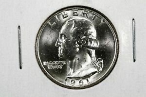 Click now to see the BUY IT NOW Price! 1961 D WASHINGTON QUARTER BU