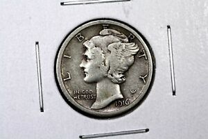 Click now to see the BUY IT NOW Price! 1916 S MERCURY DIME FINE