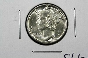 Click now to see the BUY IT NOW Price! 1938 MERCURY DIME SLIDER BU