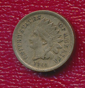 1860 INDIAN HEAD CENT   VERY NICE CIRCULATED INDIAN CENT