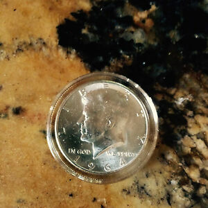 1964 P KENNEDY HALF DOLLAR CHOICE BRILLIANT UNCIRCULATED IN AIRTITE