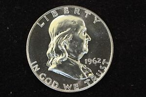 Click now to see the BUY IT NOW Price! 1962 GEM PROOF FRANKLIN HALF