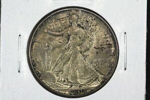 Click now to see the BUY IT NOW Price! 1939 D WALKING LIBERTY HALF CHOICE TONED BU