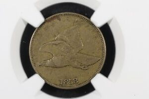 Click now to see the BUY IT NOW Price! 1858 LARGE LETTERS FLYING EAGLE CENT NGC XF 40
