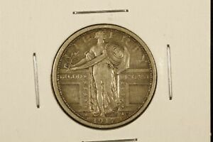 Click now to see the BUY IT NOW Price! 1917 TYPE 1 STANDING LIBERTY QUARTER XF