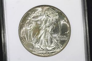 Click now to see the BUY IT NOW Price! 1942 GEM BU ANACS MS 65 WALKING LIBERTY HALF PQ
