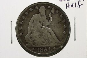 Click now to see the BUY IT NOW Price! 1854 O SEATED LIBERTY HALF DOLLAR ARROWS GOOD