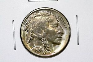 Click now to see the BUY IT NOW Price! 1919 BUFFALO NICKEL LUSTROUS CHOICE TONED UNC.