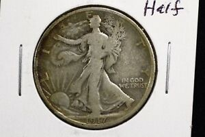 Click now to see the BUY IT NOW Price! 1917 50C WALKING LIBERTY HALF DOLLAR GOOD