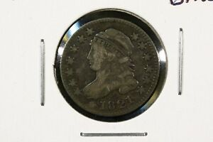 1821 CAPPED BUST DIME LARGE LETTERS FINE.  BETTER DATE.