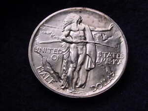 1926 S OREGON TRAIL COMMEMORATIVE HALF DOLLAR OUTSTANDING BU COIN  1