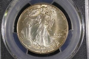 Click now to see the BUY IT NOW Price! 1946 D GEM BU WALKER PCGS MS 65