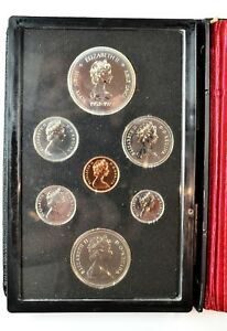 1987 CANADA DOUBLE DOLLAR PROOF SET WITH BOX