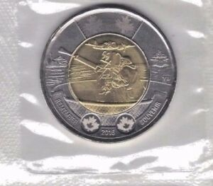 CANADA 2016 BATTLE OF THE ATLANTIC 75TH ANNIVERSARY TWO DOLLAR COIN STILL SEALED