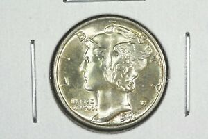 Click now to see the BUY IT NOW Price! 1941 MERCURY DIME CHOICE BU FULL SPLIT BANDS