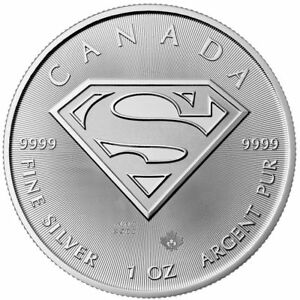 Click now to see the BUY IT NOW Price! 2016 $5 SILVER CANADIAN SUPERMAN 1 OZ BRILLIANT UNCIRCULATED