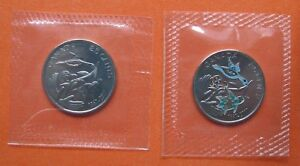 CANADA 2017 150TH ANNIVERSARY 25 SENTS 25C COINS BOTH VARIETIES  SEALED