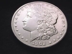 1902 MORGAN DOLLAR GREAT KEY DATE DOLLAR     1618