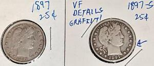 1897 AND 1897 S BARBER QUARTERS