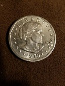 1979 P NEAR DATE SUSAN B. ANTHONY DOLLAR   UNCIRCULATED DETAILS