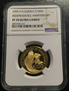 Click now to see the BUY IT NOW Price! PAPUA NEW GUINEA 100 KINA 1995 GOLD NGC PF70UC BIRD OF PARADISE TOP GRADE