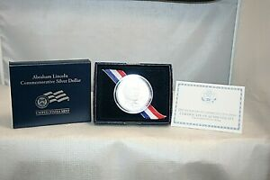2009 P ABRAHAM LINCOLN PROOF COMMEMORATIVE 90  SILVER DOLLAR U.S. MINT COIN