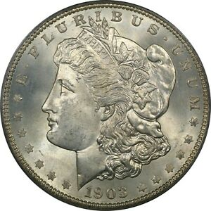 1903 O MORGAN SILVER DOLLAR $1 PCGS MS67 CAC
