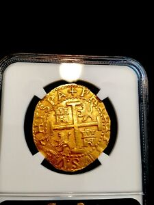 Click now to see the BUY IT NOW Price! PERU 8 ESCUDOS 1702
