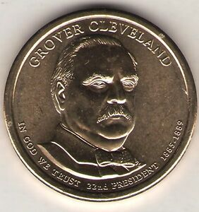 US. 2012 D. GROVER CLEVELAND. 22ND PRESIDENT  1885 88  UNC