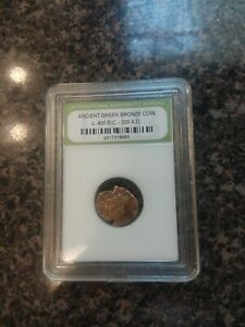 SLABBED ANCIENT GREEK COIN 6