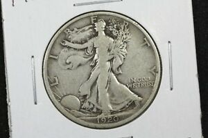 Click now to see the BUY IT NOW Price! 1920 D WALKING LIBERTY HALF FINE