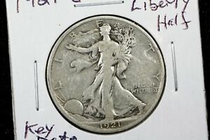 Click now to see the BUY IT NOW Price! 1921 S WALKING LIBERTY HALF FINE