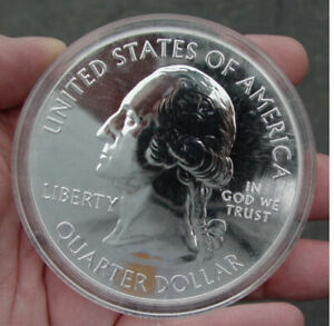 2011 5 OZ SILVER AMERICA THE BEAUTIFUL CHICKASAW NATIONAL PARK