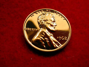 1962 LINCOLN CENT GREAT PROOF COIN      272