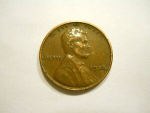 1936 P U.S. WHEAT CENT